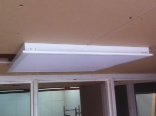 EIA mogelijk op de 34W - 4320 Lm LED panelen